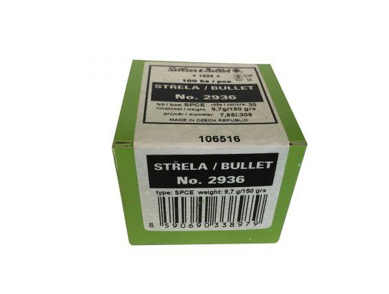PUNTA S&B CAL. 30 SPCE / .308 150GR