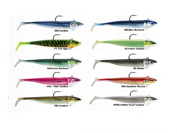 VINILO STORM BISCAY SHAD 12CM